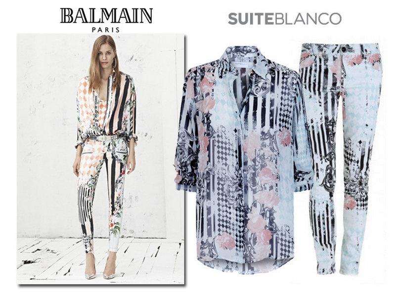 Balmain | Suite Blanco
