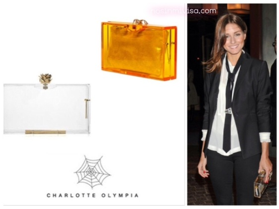 Olivia Palermo Charlotte Olympia Clutch